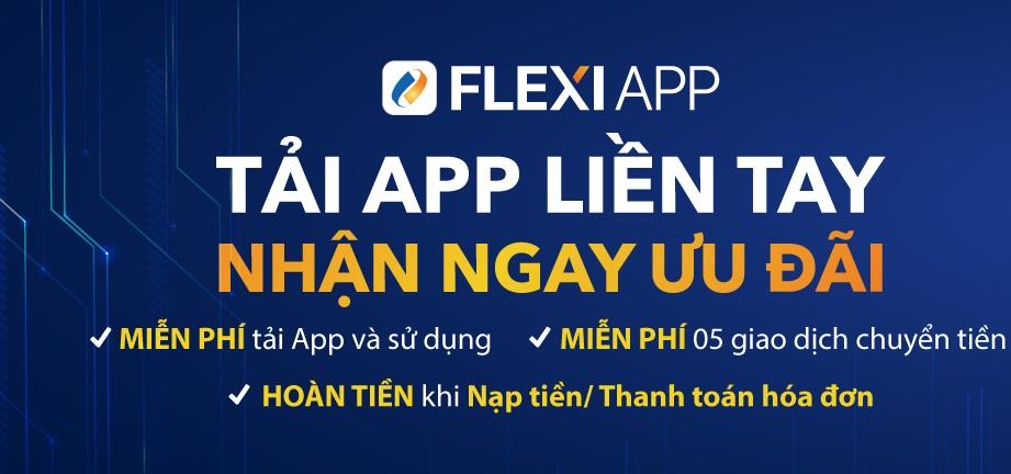 """""""Tải App liền tay – Nhận ngay ưu đãi"""" với PG Bank Flexiapp"""