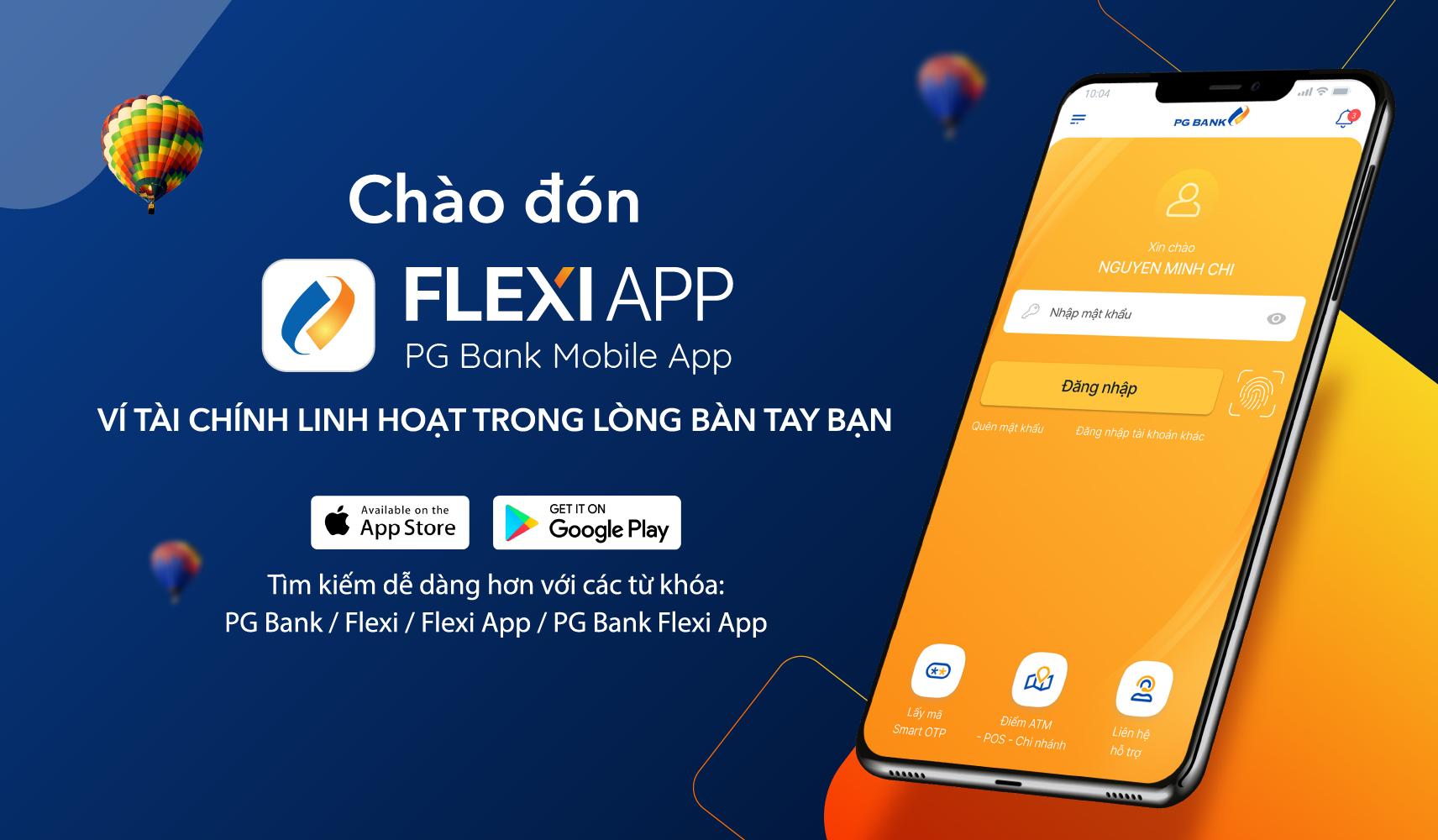 FlexiApp - PG Bank Mobile Banking